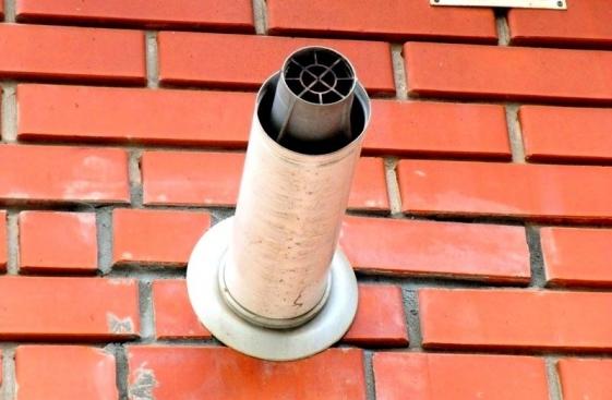 Принцип действия коаксиального дымохода